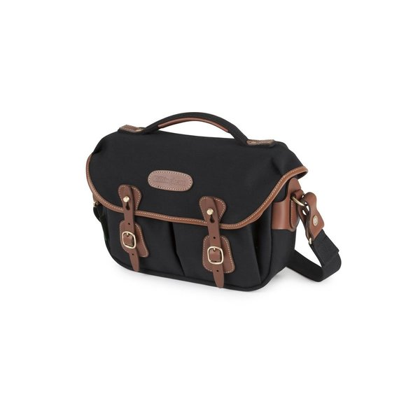 Billingham Hadley Small Pro Black Canvas / Tan